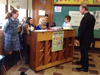 """Rev. Michael Parker Learns Students' Favorite Winter Tune"""